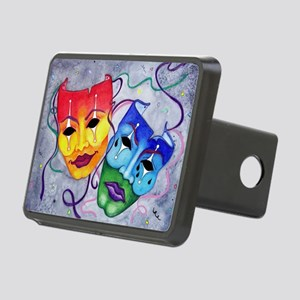 Comedy and Tragedy  Rectangular Hitch Cover