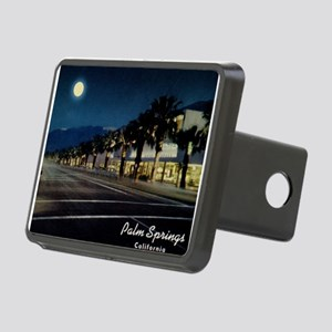 Night Scene, Palm Springs, California Hitch Cover