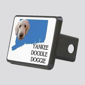 Connecticut Labradoodle Rectangular Hitch Cover