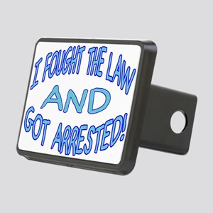 Law Won Rectangular Hitch Cover