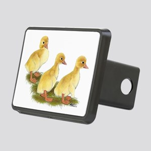 Yellow Ducklings Rectangular Hitch Cover