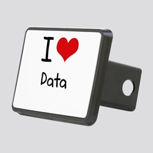 I Love Data Hitch Cover