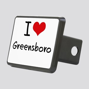I Heart GREENSBORO Hitch Cover