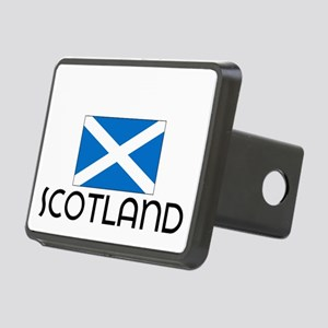 I HEART SCOTLAND FLAG Hitch Cover