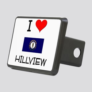 I Love HILLVIEW Kentucky Hitch Cover