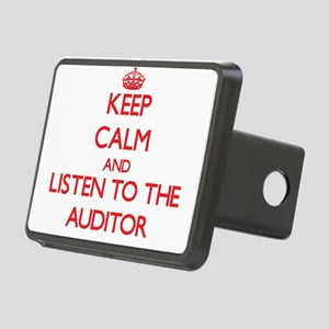 Keep Calm and Listen to the Auditor Hitch Cover