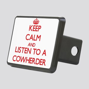 Keep Calm and Listen to a Cowherder Hitch Cover