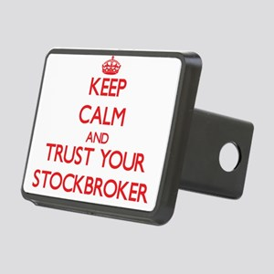 Keep Calm and trust your Stockbroker Hitch Cover