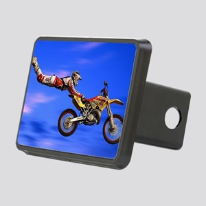 Motocross Freestyle Rectangular Hitch Cover