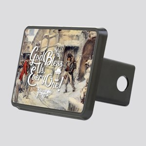 God Bless Us Every One! Rectangular Hitch Cover