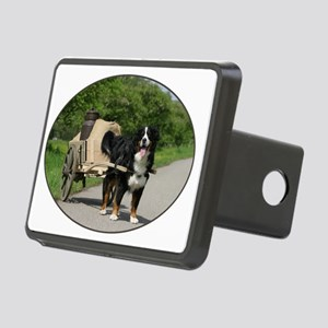 bernese_oval Rectangular Hitch Cover