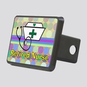 retired nurse serving tray Rectangular Hitch Cover