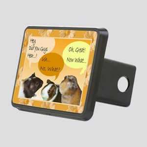 Piggy Greeting Card Rectangular Hitch Cover