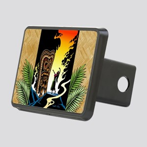 Homage to tiki Rectangular Hitch Cover
