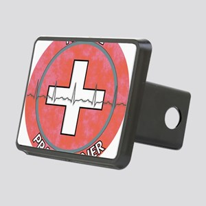 Nurse Practitioner ROUND R Rectangular Hitch Cover