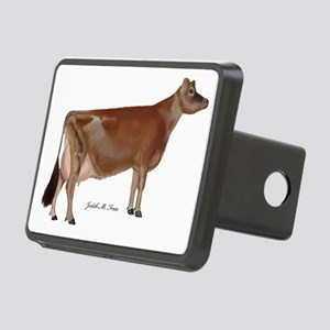 Jersey Cow Rectangular Hitch Cover