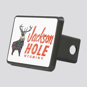 Vintage Jackson Hole Rectangular Hitch Cover