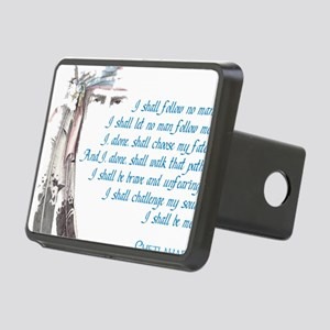 I shall be me Rectangular Hitch Cover