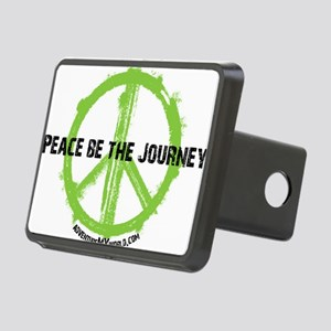 Peace be the journey - Gre Rectangular Hitch Cover