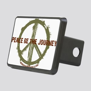 Peace Be The Journey - Kak Rectangular Hitch Cover