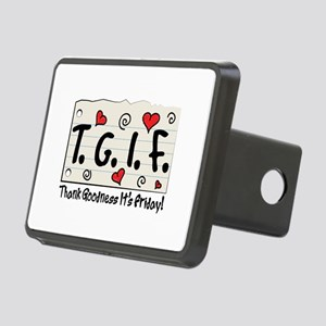 Thank Goodness It's Friday! Hitch Cover