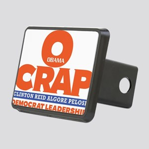 OCRAP For all Shirt colors Rectangular Hitch Cover