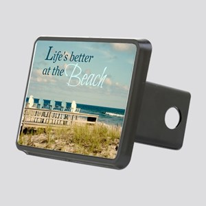 LIFE'S BETTER AT THE BEACH Hitch Cover