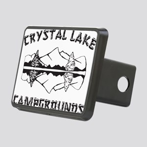 CRYSTALLAKEblack Rectangular Hitch Cover
