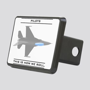 pilot_roll_bk Rectangular Hitch Cover