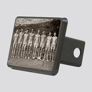 Yale Rowing Team Rectangular Hitch Cover