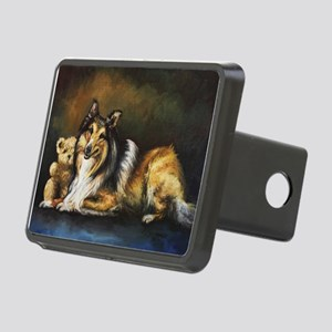 Collie Rectangular Hitch Cover