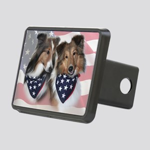 Shelties Rectangular Hitch Cover