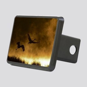 Rising Cranes  Rectangular Hitch Cover
