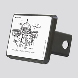 MEN_Idiots Fly Rectangular Hitch Cover