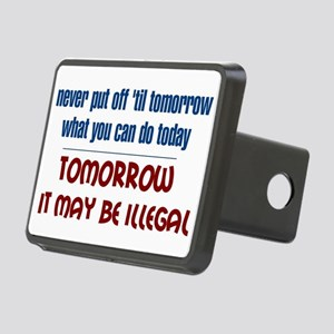 Illegal Tomorrow Hitch Cover