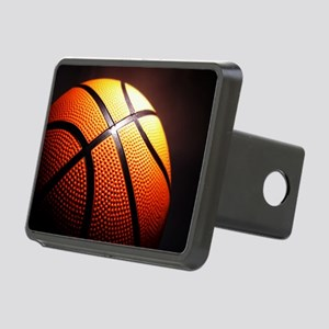 Basketball Ball Rectangular Hitch Cover