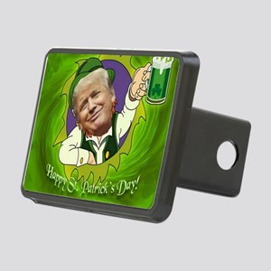 Happy St. Patrick's day Rectangular Hitch Cover