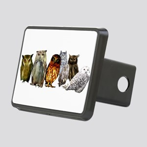 Owl Line Rectangular Hitch Cover