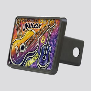 Happiness is My Ukulele Rectangular Hitch Cover