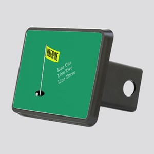 Golf Hole in One Rectangular Hitch Cover