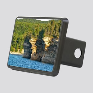 Pictured Rocks A Rectangular Hitch Cover