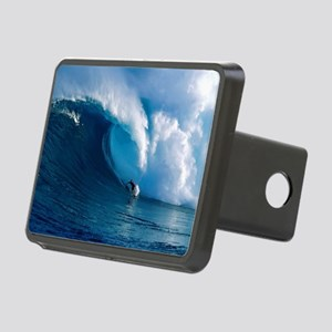 Big Wave Surfing Rectangular Hitch Cover