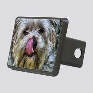 Quite Silky Terrier Dog Rectangular Hitch Cover