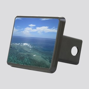 The sea of Okinawa photo Rectangular Hitch Cover
