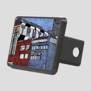 Large Truth Rectangular Hitch Cover