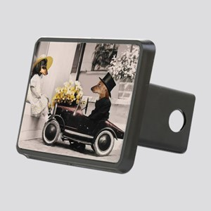 Old Fashioned Doxies Rectangular Hitch Cover