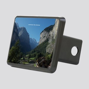 Lauterbrunnen Valley, Swit Rectangular Hitch Cover