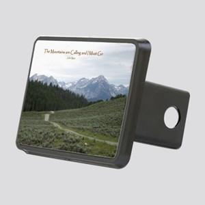 The Sawtooth Mountains are Rectangular Hitch Cover