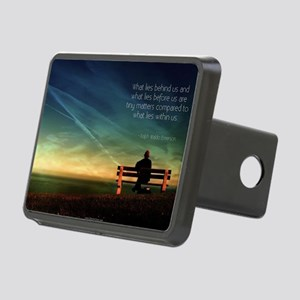 Self Motivation Rectangular Hitch Cover