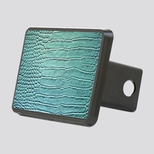 Faux Crocodile Skin graphi Rectangular Hitch Cover